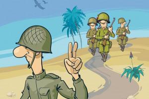 30 متن بسیار زیبا و احساسی تبریک روز سرباز به برادر
