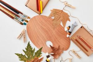 کاردستی با برگ : 20 کاردستی شیک و لاکچری با برگ های سبز و زرد