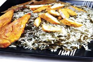 آموزش مرحله به مرحله پخت تاک پلو غذای اصیل شاهرود