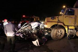 مرگ دلخراش 2 جوان در مازندران / کامیون آنها را زیر گرفت