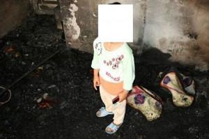 بازی کودک با فندک، یک خانواده را به کام مرگ برد
