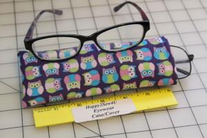 روش دوخت قاب عینک رنگارنگ با استفاده از روبانها و پارچههای اضافی