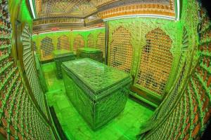 15 عکس خیره کننده از قبر و ضریح مطهر امام هادی (ع)