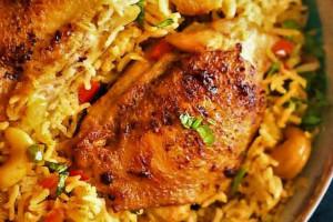 طرز تهیه بریانی مرغ مقوی و پرخاصیت + فوت و فن های پخت بریانی مرغ