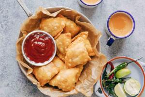 دستور پخت سمبوسه سبزیجات خوشمزه و رژیمی