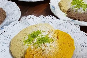 طرز تهیه حلوا کفگیری دسر خوشمزه و آسان تبریز