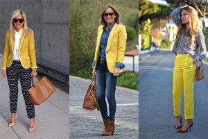 رنگ زرد با چه رنگ هایی ست می شود ؟