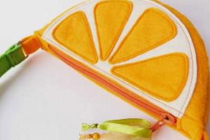 آموزش دوخت کیف دستی نمدی به شکل پرتقال
