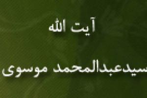 رحلت آیت اللَّه سیدعبدالمحمد موسوی عالم مسلمان(1293 ق)