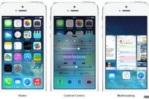 نسخه 7 سیستم عامل اپل به بازار آمد