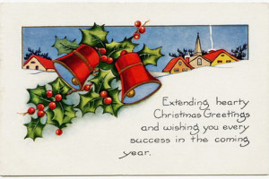 کارت پستال کریسمس + عکس گروه نهم