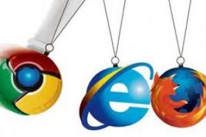 کروم و فایرفاکس مطمئن تر از IE