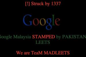 آیا هکرها واقعاً سایت گوگل مالزی را هک کردهاند؟