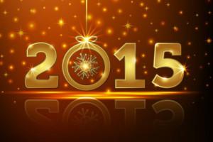کارت پستال تبریک سال 2015  (سری اول)