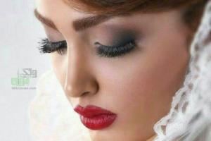 عکس آرایش عروس زیبای ایرانی جدید