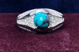 گالری جواهرات فیروزه شیک و زیبا (زنانه)