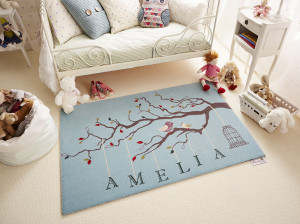 مدل های جدید قالیچه و فرش اتاق کودک در طرح های فانتزی