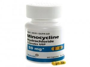 مینوسایکلین  آنتی بیوتیک ضد آکنه !