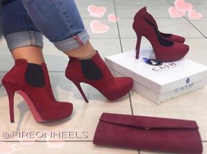 عکس کفش مجلسی زنانه پاشنه بلند با طراحی جذاب برای مهمانی های مهم