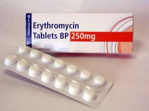 موارد مصرف و عوارض قرص اریترومایسین Erythromycin