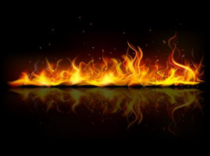 آتش در خواب به چه معناست ؟