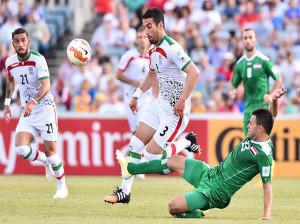 ساعت دقیق بازی ایران و عراق