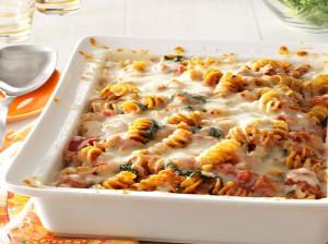روش تهیه گراتن ماکارونی با گوشت یا مرغ