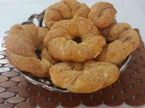 طرز تهیه نان سیمیت ساده