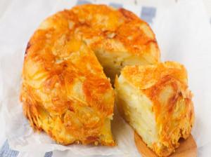 طرز تهیه کیک سیب زمینی
