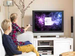 فاصله استاندارد فرد از تلویزیون