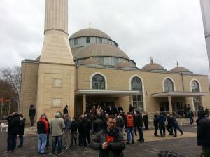مسجدی در آلمان تهدید به بمب گذاری شد