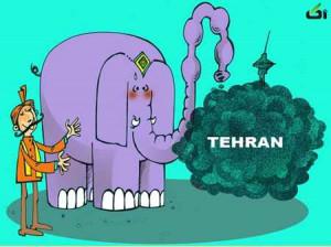 راهکارهندی هابرای رفع آلودگی تهران