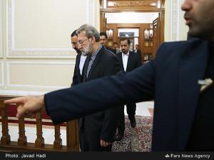 تصاویر دیدار رییس شورای فدراسیون روسیه با علی لاریجانی