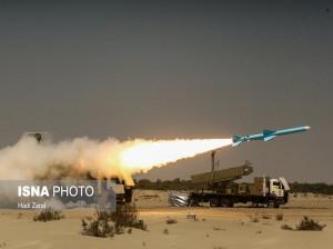 تصاویر شلیک موشک قادر / رزمایش ذوالفقار 99