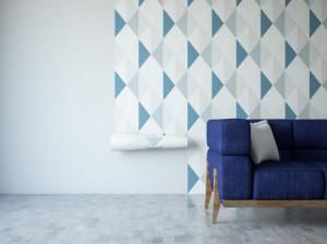 راهنمای انتخاب و نصب کاغذ دیواری و پوستر دیواری اتاق پذیرایی و اتاق خواب