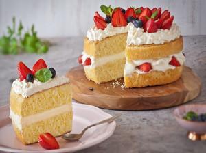 دستور پخت کیک شیفون ساده و خوشمزه