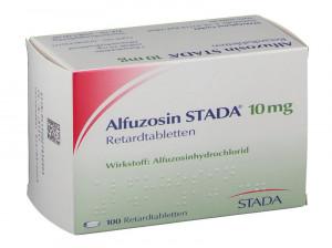 اطلاعات دارویی کامل قرص آلفوزوسین