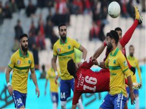 پیروزی نفت آبادان در مقابل ماشین سازی در آخرین دقایق بازی