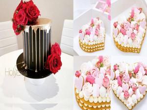 ایده های ساده ولی جذاب برای تزیین کیک + عکس