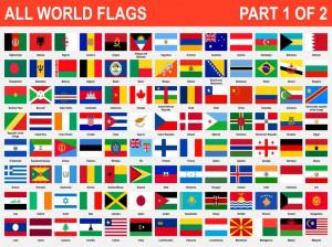 پایتخت تمام کشورهای جهان به تفکیک قاره