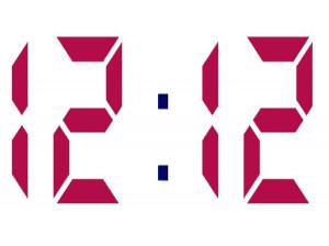 ساعت 12:12 به چه معناست ؟