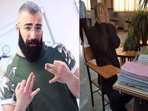 فیلم لحظه آزاد شدن حمید صفت از زندان