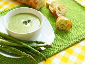 آموزش مرحله به مرحله تهیه سوپ مارچوبه