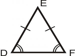 آموزش محاسبه محیط و مساحت مثلث متساوی الساقین