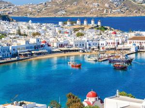 میکونوس با تمام زیبایی هایش در یونان