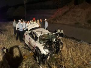 حادثه دلخراش در اتوبان بابایی، 5 کشته بر جای گذاشت