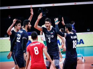 ساعت بازی والیبال ایران و امریکا امروز