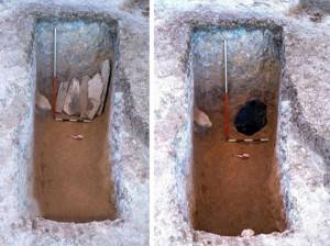 کشف جسد بانوی 35 ساله از دوره اشکانیان در بهشهر + عکس