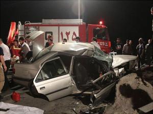 6 کشته و زخمی در تصادف جاده مشهد کاشان