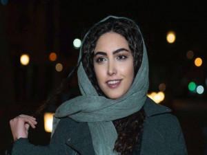 عکس بدون حجاب ساناز طاری بازیگر گشت ارشاد